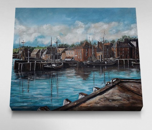 Padstow-Harbour-Circa-Canvas
