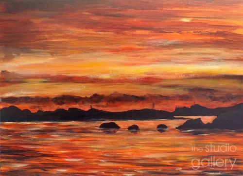scilly-sunset-painting