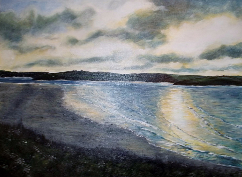 Towards Padstow Giclee Canvas Print